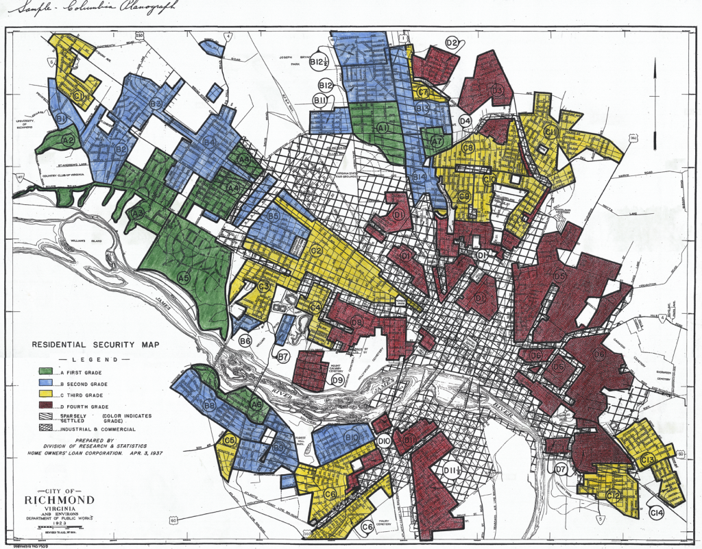 Richmond, Virginia's Place in GIS and Racial Discrimination History on