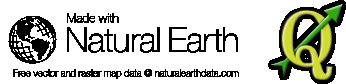 Natural Earth & Quantum GIS