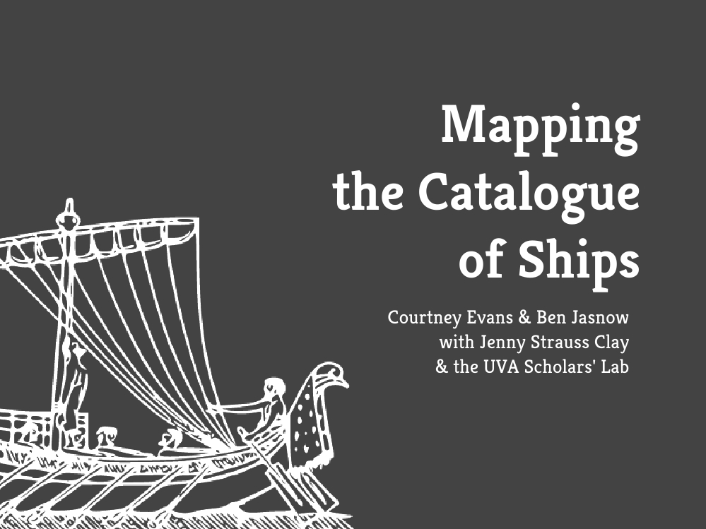 Mapping the Catalogue of Ships