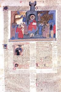 Bologna, s. xiii Cesena, Biblioteca Malatestiana, Pluteo II sin. cod. 1, fol. 2r