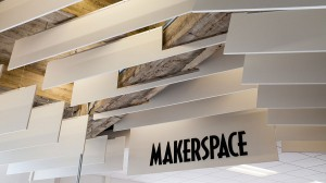 The Makerspace sign